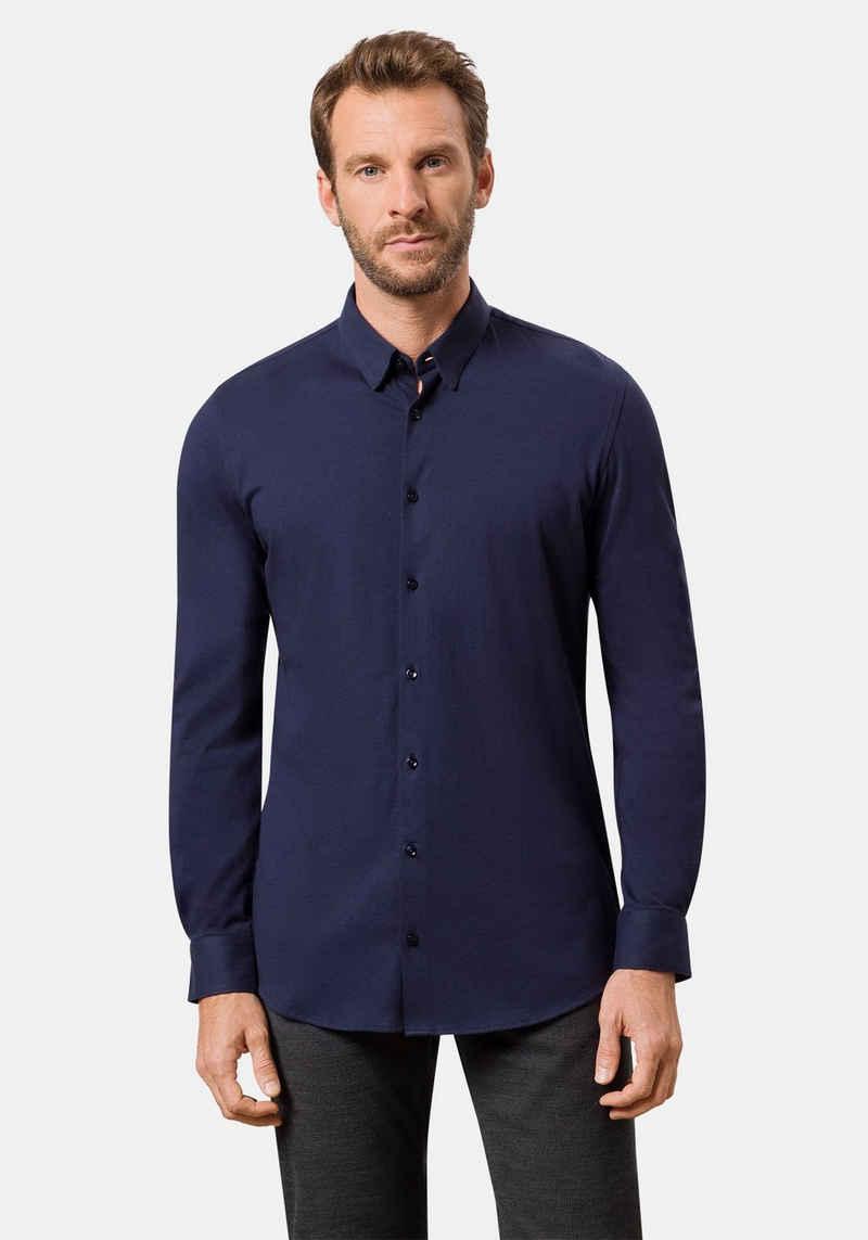 Pierre Cardin Langarmhemd »Jersey-Hemd«