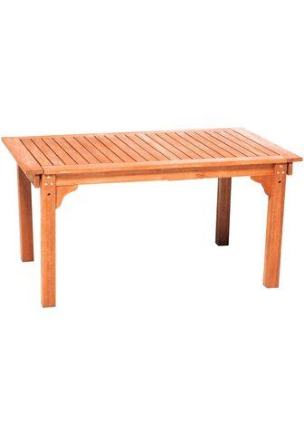 MERXX Sodo stalas išskleidžiamas BxT: 150/18...