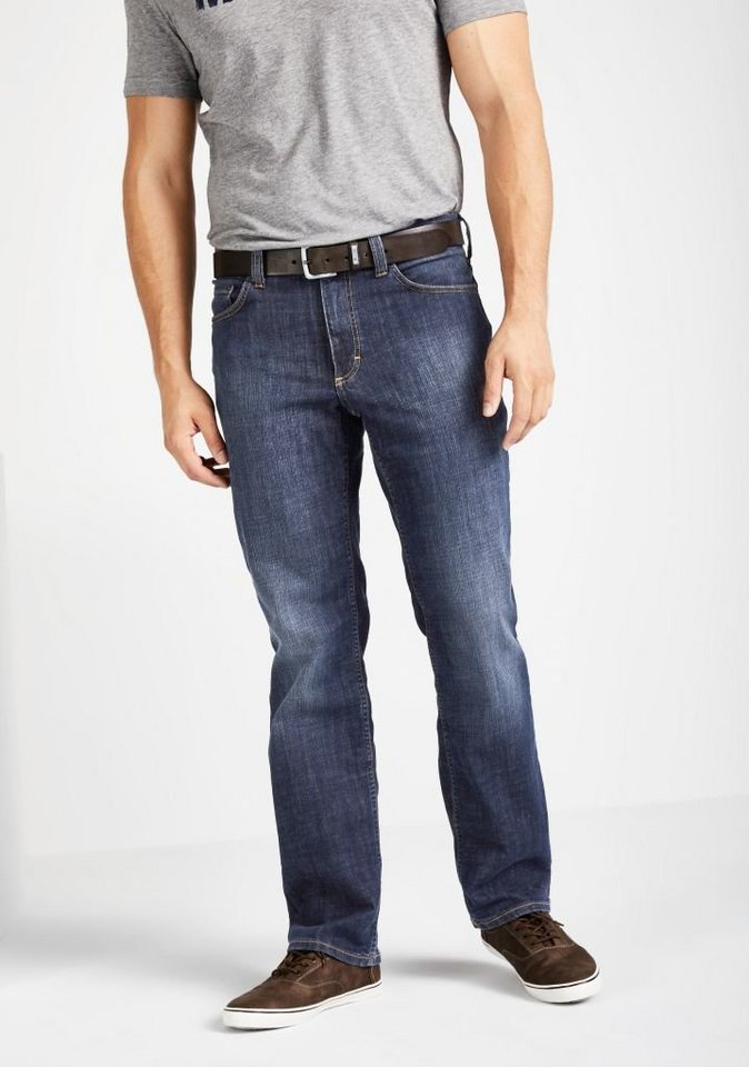 MUSTANG Stretchjeans »Big Sur« in old brushed