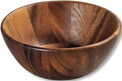 KESPER for kitchen & home Schale, Holz, mit besonderer Holzmaserung, Ø 20 cm