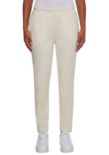 TOMMY HILFIGER Jerseyhose »PIQUE TAPERED PANT« mit elastischem Taillenbund