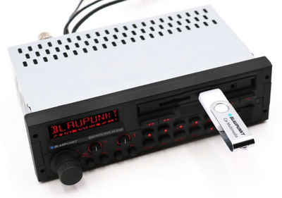 Blaupunkt Audio-System (BLAUPUNKT Bremen SQR 46 DAB - Bluetooth, DAB+ Digitalradio, MP3, SD, USB Retro Autoradio)
