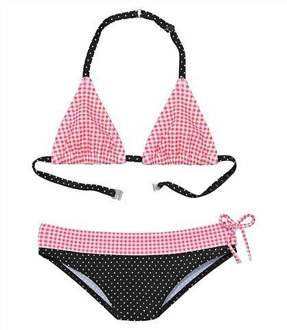 c7b1090fbb701 Buffalo Triangel-Bikini mit Mustermix aus Karo und Punkten online kaufen |  OTTO