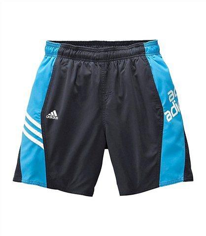 adidas Performance Badeshorts in anthrazit-blau