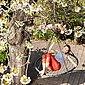 relaxdays Nestschaukel »Nestschaukel mit Netz 120 cm«, Bild 5