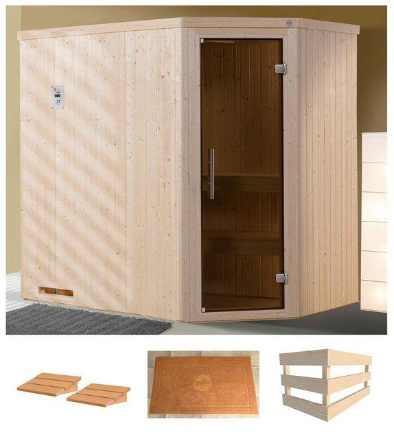 Saunen und Zubehör - weka Sauna »Varberg 1«, BxTxH 194 x 144 x 199 cm, 68 mm, ohne Ofen  - Onlineshop OTTO