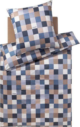 Bettwäsche »MOSAIC«, Joop!, mit kontrastierendem Mosaik-Muster