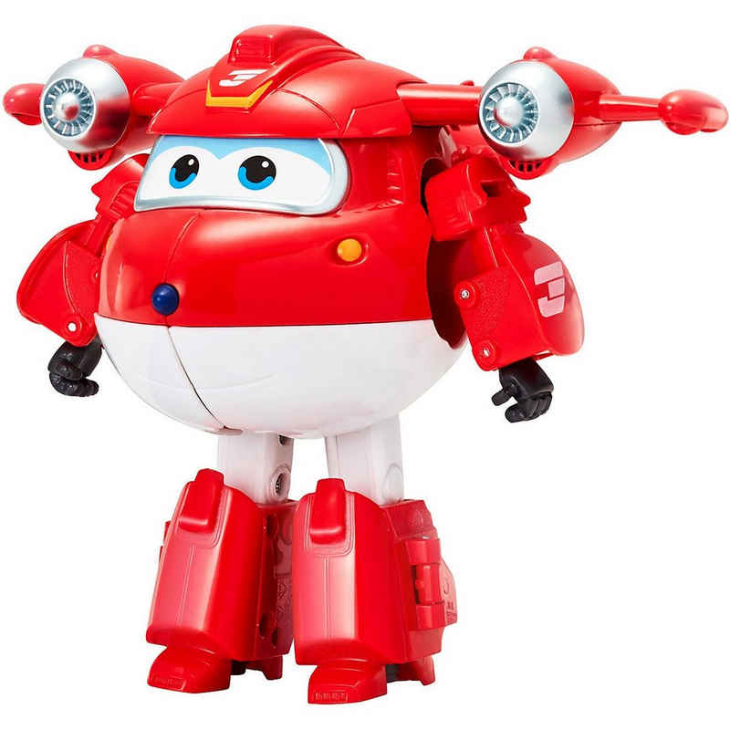 Super Wings Actionfigur »Super Wings Transforming-Supercharge Jett«