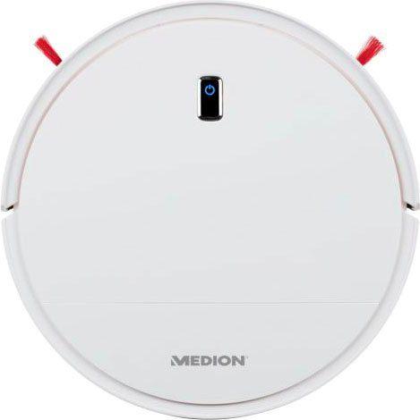 Medion® Saugroboter mit Mittelbürste MD 19700, 6 Reinigungsmodi, 17 Watt
