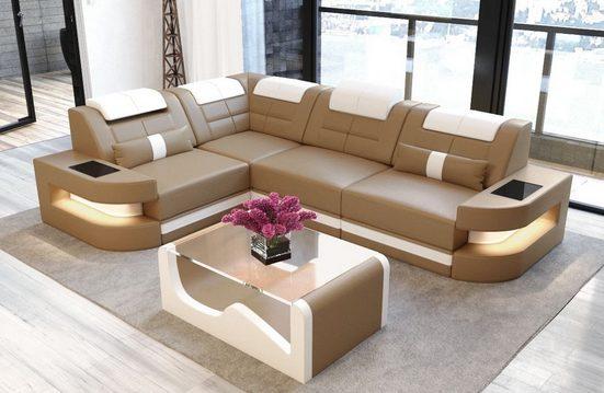 Sofa Dreams Sofa »Como«, L Form