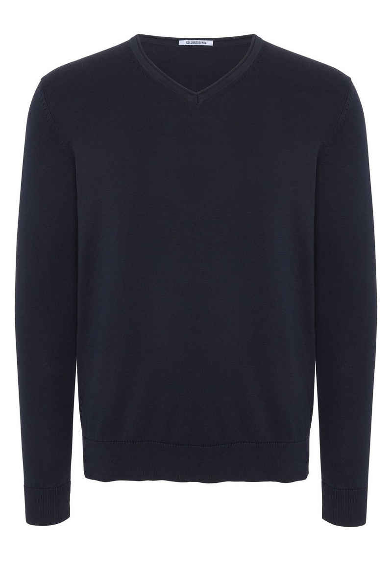 COLORADO DENIM Strickpullover »Men, Knitted Sweater, Regular Fit« (1-tlg)