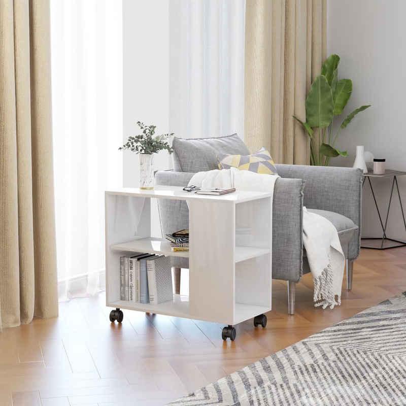 vidaXL Beistelltisch »vidaXL Beistelltisch Rollen Spanplatte Couchtisch Wohnzimmer mehrere Auswahl«
