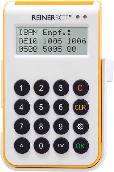 REINER TAN-Chipkartenleser »Chipkartenleser,TAN,Online-Banking,Bluetooth,USB«, cyberJack one