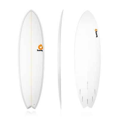 TORQ Wakesurfboard »Surfboard TORQ Epoxy TET 6.10 MOD Fish Pinlines«