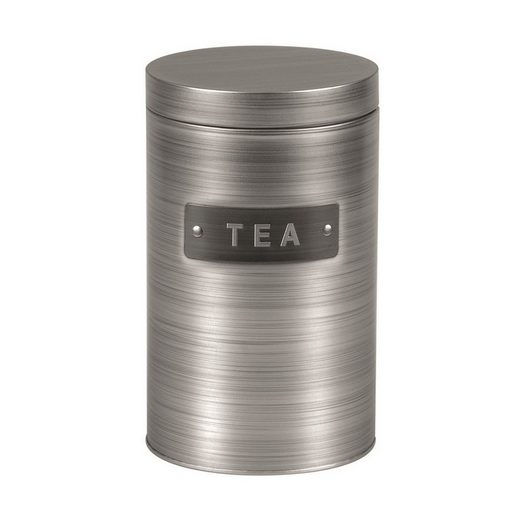 Michelino Teedose »Teedose Vorratsdose Silber«, Metall, (1-tlg)