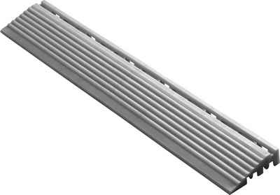 florco® Klickfliesen-Kantenleiste, Seitenteil silber, 40 cm