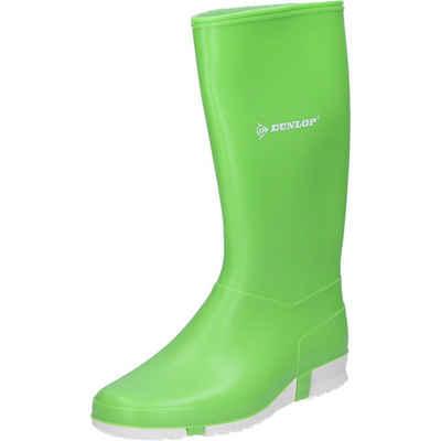 Dunlop »Dunlop Stiefel Sport lime hellgrün/weiß« Gummistiefel