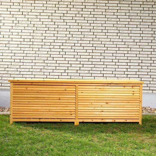 Mucola Auflagenbox »Auflagenbox 170CM Kissenbox Holz Gartenbox Gartentruhe Holztruhe«
