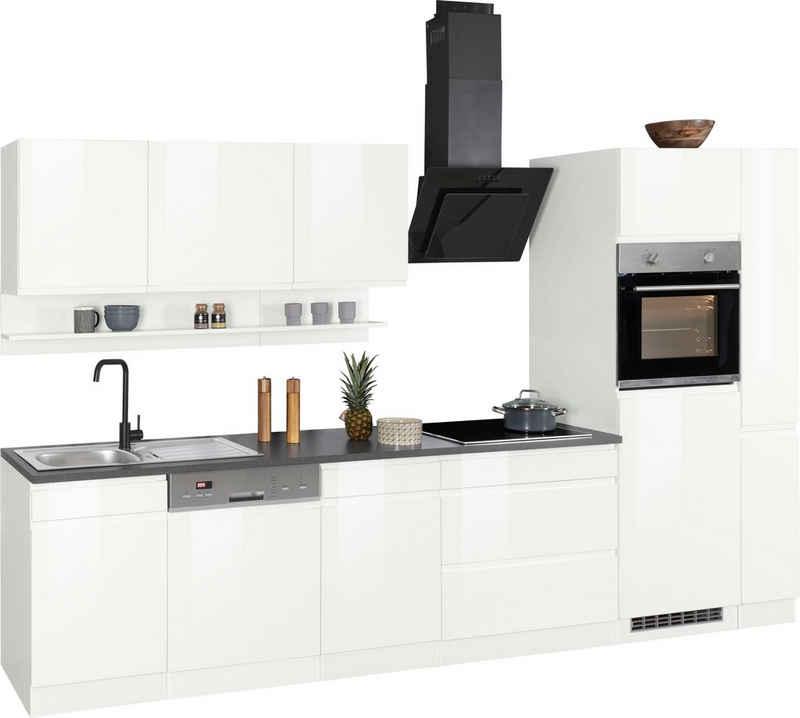 HELD MÖBEL Küchenzeile »Virginia«, ohne E-Geräte, Breite 330 cm