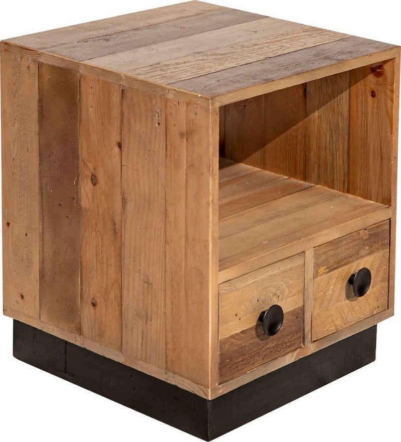 SIT Nachtkommode »Old Pine«, aus recyceltem Pinienholz