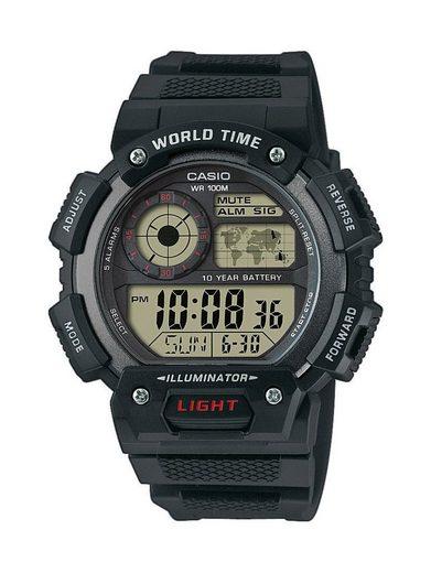 CASIO Chronograph »Casio Herrenuhr AE-1400WH-1AVEF«