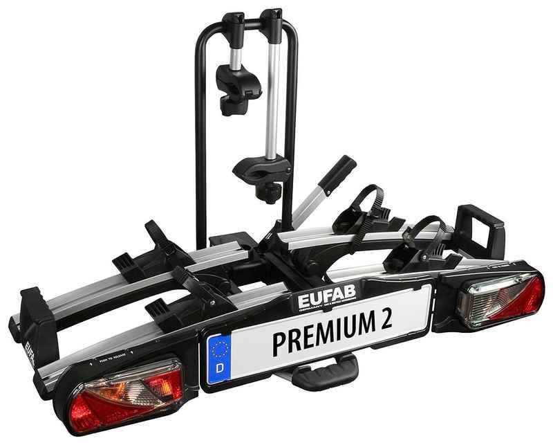 EUFAB Kupplungsfahrradträger »PREMIUM 2«, für max. 2 Räder, abschließbar