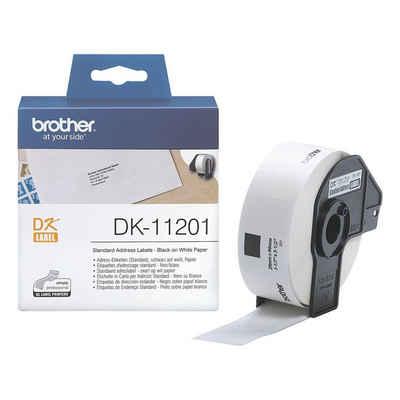Brother Thermorolle »DK-11201«, 400 Adress-Etiketten B/L 29/90 mm