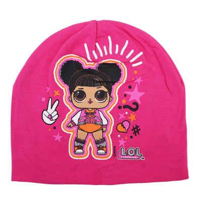 LOL Surprise Schlupfmütze »Kinder Mütze - Cheerleader« Gr. 52 oder 54 cm, 100% Baumwolle, in Pink oder Rosa
