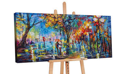 YS-Art Gemälde »Herbstliche Allee PS059«