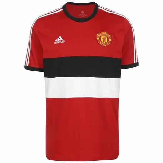 adidas Performance T-Shirt »Manchester United 3-Streifen«