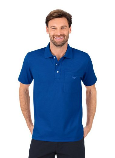 Trigema Poloshirt aus Single-Jersey