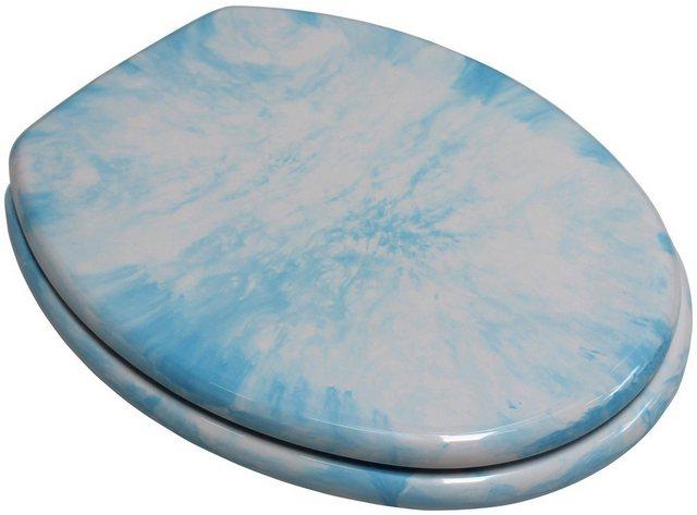 WCs und Zubehör - ADOB WC Sitz »Marmor«, extrem stabil mit Edelstahlscharnieren  - Onlineshop OTTO