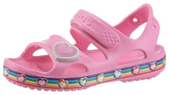 Crocs »Crocs Fun Lab Rainbow« Sandale mit Klettverschluss