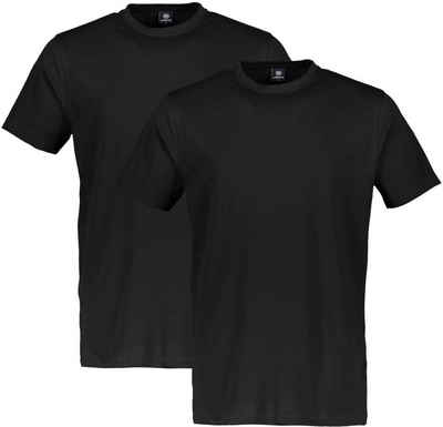 LERROS T-Shirt (Spar-Set, 2er-Pack) in klassischer Optik
