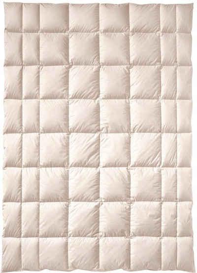 Naturfaserbettdecke, »ZIRBERELLA® Wool«, billerbeck, Füllung: 100% Wolle, Bezug: Baumwolle, Beruhigend und entspannend!