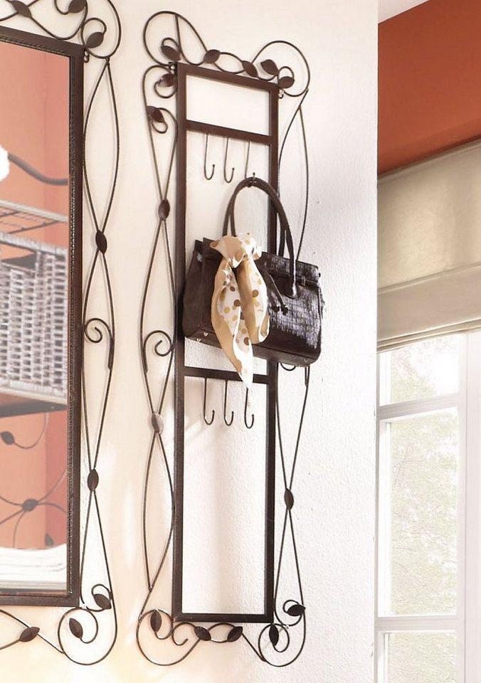home affaire garderobe mit aufwendigen verzierungen. Black Bedroom Furniture Sets. Home Design Ideas