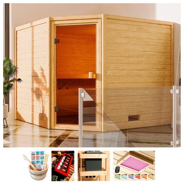 Saunen und Zubehör - KARIBU Sauna »Trixi«, 230x195x187 cm, ohne Ofen  - Onlineshop OTTO