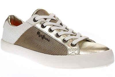 Pepe Jeans »pls30466 clinton mesh gold« Sneaker