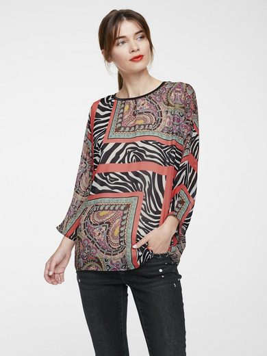 RICK CARDONA by Heine Druckbluse Patchwork-Optik