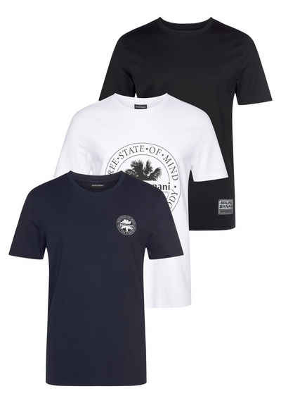 Bruno Banani T-Shirt »Essentials T-Shirts« (3er-Pack)