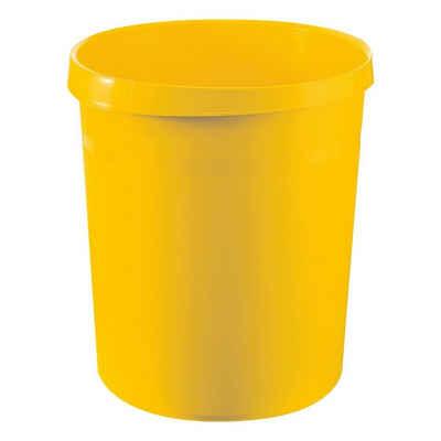 HAN Papierkorb »Grip«, 18 Liter, mit umlaufendem Griffrand