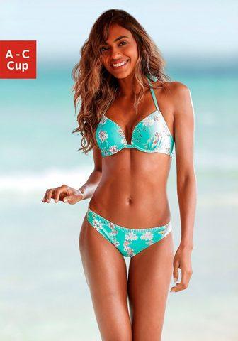 Sunseeker Push-Up-Bikini-Top »Ditsy« su Häkelkan...