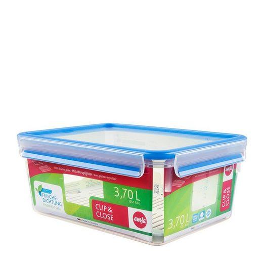 Emsa Frischhaltedose »Frischhaltedose mit Abtropfgitter Clip Close«, Kunststoff, (1-tlg)