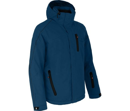 Bergson Skijacke »NOVA« Herren Skijacke, wattiert, 12000 mm Wassersäule, Kurzgrößen, poseidon blau