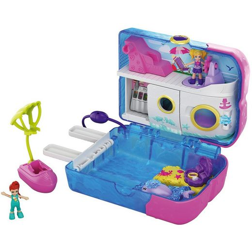 Mattel® Polly Pocket Kreuzfahrt-Abenteuer-Eis Schatulle