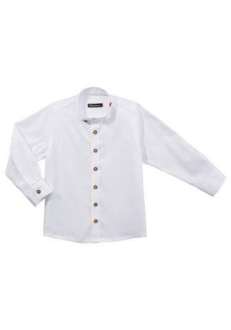 OS-Trachten Tautinio stiliaus marškiniai su Stehkr...