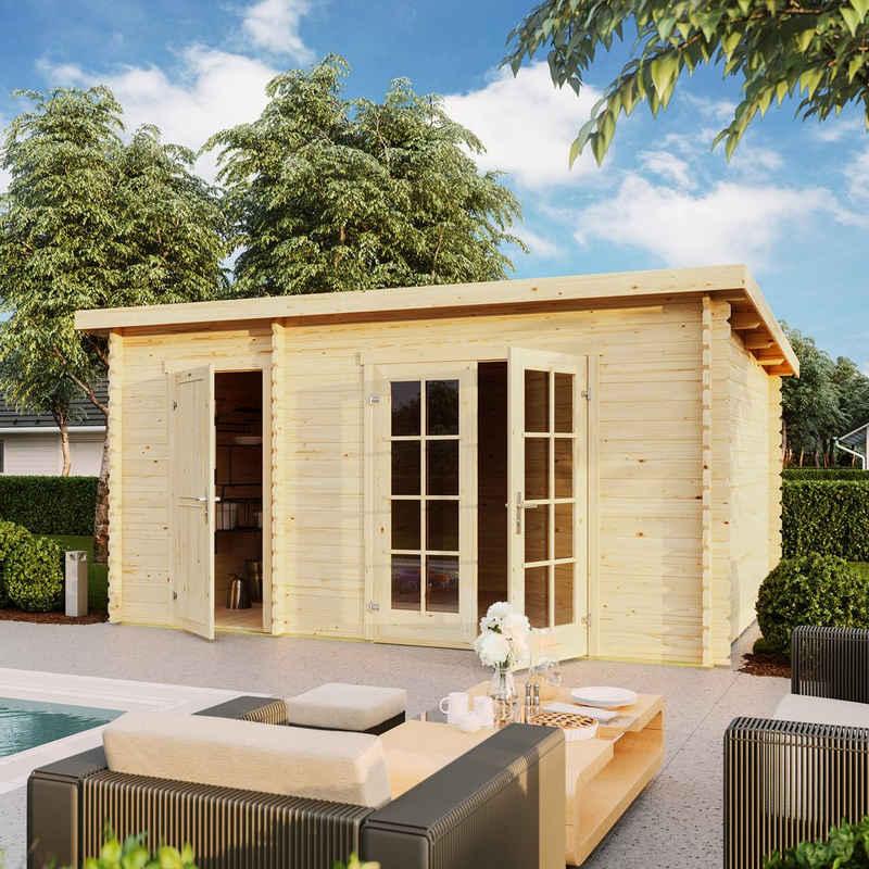 Outdoor Life Products Gartenhaus »Belmont 2«, BxT: 465x319 cm