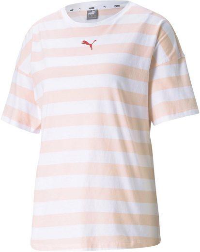 PUMA T-Shirt »SUMMER STRIPES AOP Tee«