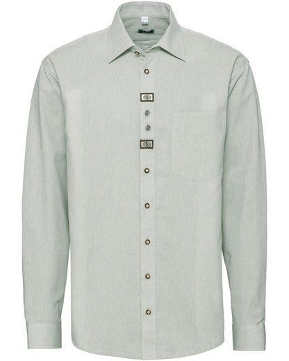 Luis Steindl Trachtenhemd »Trachtenhemd mit Applikationen«