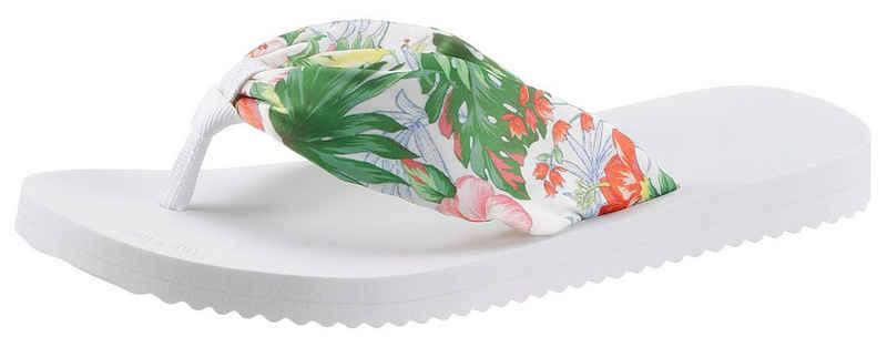 Flip Flop »tex*tube tropics« Zehentrenner mit sommerlichen Print